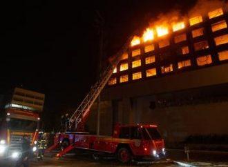 Dois bombeiros estão desaparecidos após incêndio no prédio da SSP