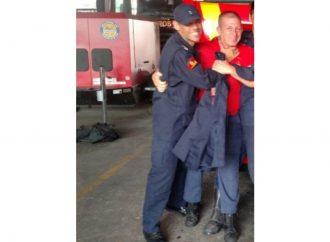 Quem são os bombeiros que estão desaparecidos após incêndio