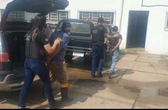 Em Uruguaiana dois homens são presos por estupro de uma criança