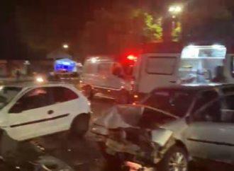 Motorista foge de blitz e provoca acidente